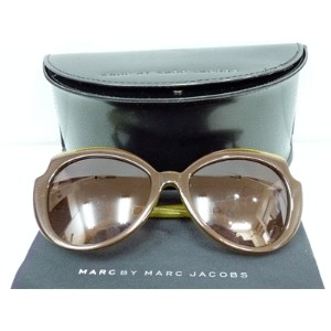 【MARC BY MARC JACOBS】マーク バイ マーク ジェイコブスサングラス 262/S-XREJ6ブラウン×グリーン【中古】