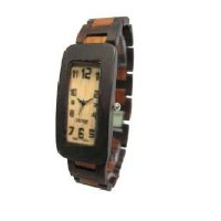 テンス 時計 メンズ 腕時計 木製 Tense Solid Sandalwood Mens Curved Regular Wood Watch G8221DS Hypo-Allergenic