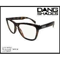 DANG SHADES ORIGINAL Light Tortoise x Clear vidg00065 クリアーレンズ トイサングラス
