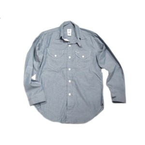 POST OVERALLS(ポストオーバーオールズ)/#1268 VERY LEE SOUTHERN CHAMBRAY SHIRTS/indigo