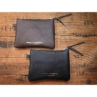 Heritage Leather Co. ヘリテージレザー WALLET POUCH ウォレットポーチ 2色(BLACK/BROWN)