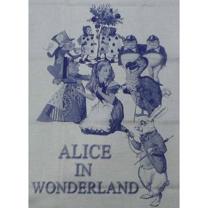 ALICE IN WONDERLAND ティータオル