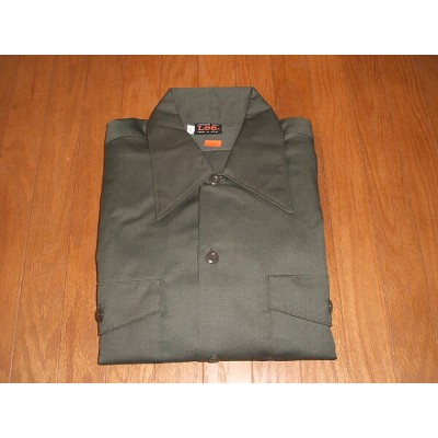 Lee(リー) 1970年代 実物ビンテージ Chetopa Twill Work Shirts(チェトパツイル ワークシャツ) Lot 120-5331 MADE IN USA(アメリカ製)...