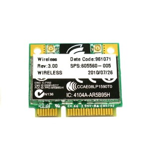HP 605560-005 Atheros AR5B95 AR9285 802.11 b/g/n WiFi Adapter 無線LANカード 605560-005 FOR 4320s 4321s...