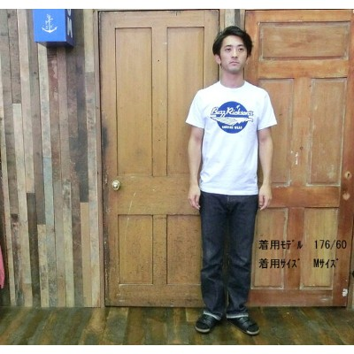 No.BR77166JS BUZZ RICKSONS × JUNKY SPECIALバズリクソンズ×ジャンキースペシャルS/S T-SHIRT