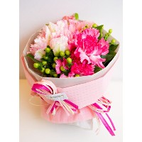 Bouquet type pure pink