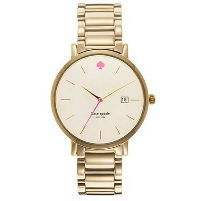 ケイトスペード Kate Spade 腕時計 GRAMERCY Gramercy Grand Gold-Tone Stainless Steel Bracelet 38mm (Gold)...