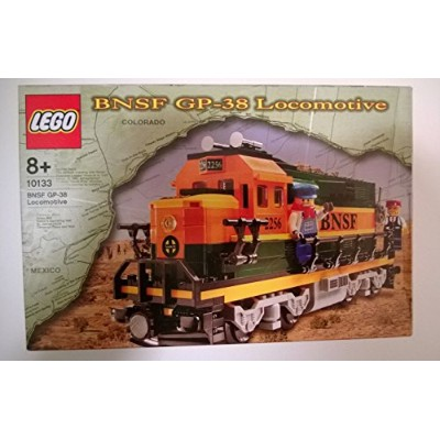 レゴ トレイン LEGO 10133 Burlington Northern Santa Fe (BNSF) GP-38 Locomotive