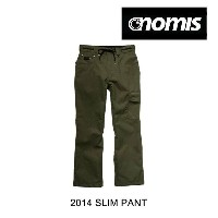 2014 NOMIS ノーミス パンツ SLIM PANT ARMY HEATHER