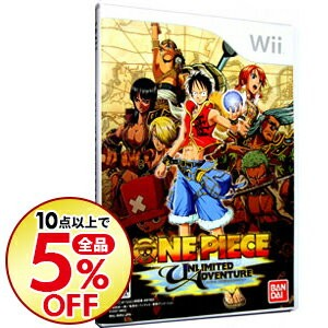 【中古】Wii ONE PIECE UNLIMITED ADVENTURE