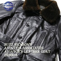 BUZZ RICKSON'S バズリクソンズ AVIATION ASSOCIATES AVIATOR'S LEATHER COAT BR80418