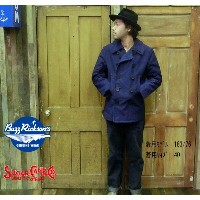 "No.SC13424A BUZZ RICKSON'S & SUGAR CANETOYO ENTERPRISE 50TH ANNIVERSARY MODEL""type INDIGO PEA COAT"""