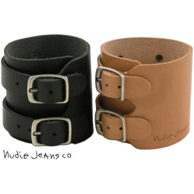 Nudie Jeans co/ヌーディージーンズ THORSSON WRISTBAND LEATHER レザーブレスレット/レザーリストバンド