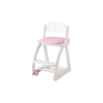 KOIZUMI/コイズミ 【Lovely Chair/木製ラブリーチェア】KDC-038PW HP ハートピンク