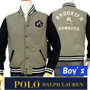 POLO by Ralph Lauren Boy'sPRL ベースボールジャケット【2015-Fall/NewColor】【ラルフローレン ボーイズ】【送料無料】
