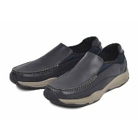 【SPERRY TOPSIDER】 スペリートップサイダー VOYAGER GORE S/O ボイジャー ゴアスリッポン STS13302 BLACK