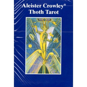 AGM社ブルーボックス・トート・タロット【デラックス】Aleister Crowley Thoth Tarot - De Luxe