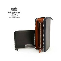"""【POINT20倍】Whitehouse Cox(ホワイトハウスコックス)ホースハイド ラウンドファスナー 長財布 """"ZIP ROUND PURSE(DERBY COLLECTION)""""・S1760..."""