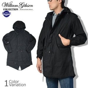 "Buzz Rickson's(バズリクソンズ) ""WILLIAM GIBSON COLLECTION"" TYPE BLACK M-51 PARKA SLENDER ギブソン パーカー スレンダー..."