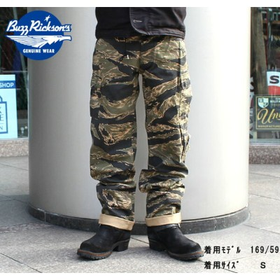 """No.BR40877 BUZZ RICKSON'Sバズリクソンズ""""GOLD TIGER PANTS TYPE 2"""""""