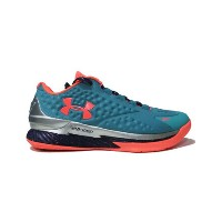 "バスケットシューズ バッシュ アンダーアーマー UnderArmour Curry One Low ""SC30 Select Camp"" H.Grn/Purp/B.Org"