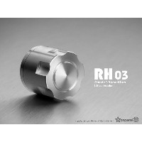 1.9 RH03 wheel hubs (Silver) (4) GM70132 Gmadejapan Junfacjapan 05P01May16