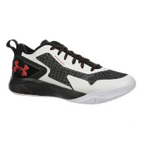 Under Armour Clutchfit Drive 2 Lowメンズ White/Black/Red アンダーアーマー クラッチフィットドライブ バッシュ