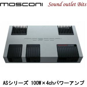 【MOSCONI】モスコニGLADEN AS 100.4 100W×4chパワーアンプ