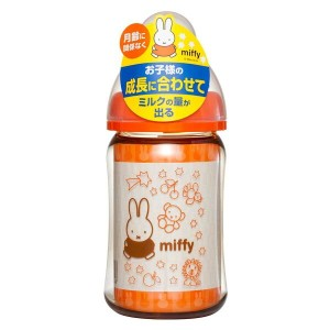 チュチュベビー ミッフィー広口PPSU製哺乳びん160ml Chu-Chu Baby Miffy Wide-Neck PPSU Feeding Bottle 160mL