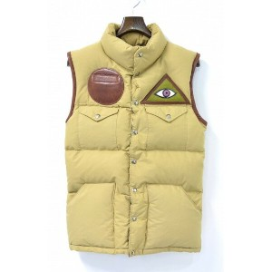 【美中古】 M.I.H (エム アイ エイチ) / MT.ILLUMINATUS HABERDASHERY by South paradiso リメイクダウンベスト REMAKE DOWN VEST...