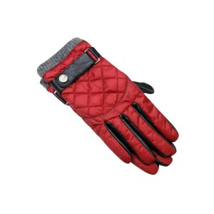 POLO RALPH LAUREN DIAMOND QUILTED LEATHER GLOVES (6G0011/619)ポロラルフローレン/手袋/グローブ/赤
