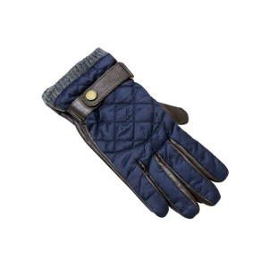 POLO RALPH LAUREN DIAMOND QUILTED LEATHER GLOVES (6G0011/433)ポロラルフローレン/手袋/グローブ/紺