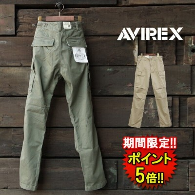 アビレックス【AVIREX】 AIV FATIGUE PANTS (6166110) Men's 2color □