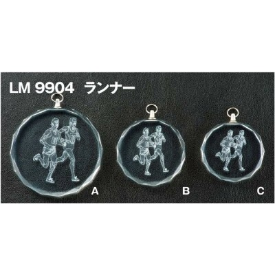 LMクリスタルメダル (高級別珍ケース入り) LM9904VB/A-1