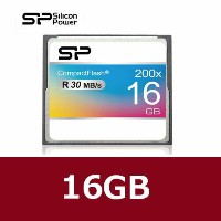 Silicon Power【シリコンパワー】 コンパクトフラッシュ 200倍速 16GB/SP016GBCFC200V10