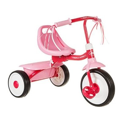 Radio Flyer Girls' Fold 2 Go Trike ラジオフライヤー