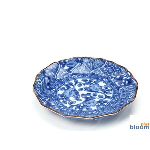 美濃焼/単売 ネジリ祥瑞取皿【tableware,dish,plate,made in japan】【bloom-plus】