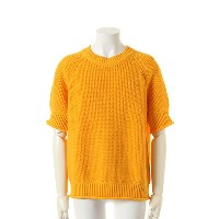 9200 by attack the mind 7 キュウセンニヒャク by アタックザマインドセブン Five parts sleeve loose crew neck pullover{-AFS...