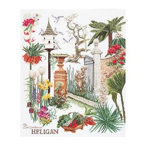 Thea Gouverneur クロスステッチ刺繍キットNo.423 「Heligan Garden」(ヘリガン・ガーデン 花) オランダ テア・グーヴェルヌール 【取り寄せ/納期40~80日程度】