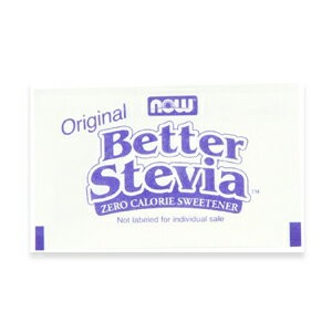 NOW BETTER STEVIA PACKETS 1000/BOX #6958 ナウ ベターステビア 1000パック