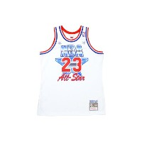 MITCHELL&NESS 1991 AUTHENTIC NBA ALL-STAR GAME JERSEY (No.23: MICHAEL JORDAN)ミッチェル&ネス/ゲームジャージ/白