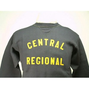 "WAREHOUSE(ウエアハウス) ヴィンテージ スウェットLot.403 SET IN FREEDOM VINTAGE SWEAT""CENTRAL REGIONAL"" DARK NAVY..."