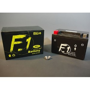 FTX9-BS メンテナンスフリーバッテリー 液入り充電済 F1 BATTERY(YTX9-BS互換)