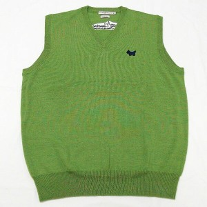 ピーターミラー スコッティキャメロン Vネックベスト Scotty Cameron Peter Millar Sweater Vest - Merino - Scotty Dog - Verde