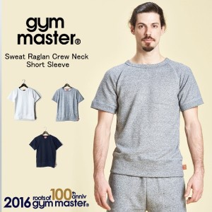 gym master(ジムマスター)1511C Sweat Raglan Crew Neck Short Sleeve
