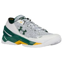"Under Armour Curry 2 Low ""Athletics""メンズ White/Forest Green アンダーアーマー カリー2 バッシュ ステフィンカリー"