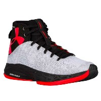 Under Armour Fire Shot メンズ White/Black/Rocket Red アンダーアーマー バッシュ