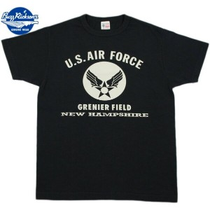 "BUZZ RICKSON'S/バズリクソンズS/S T-SHIRT ""U.S. AIR FORCE GRENIER FIELD NEW HAMPSHIRE""半袖、エアフォースマーク..."