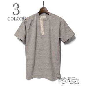 ORGUEIL オルゲイユ 裾にかけ細くなるヘンリーネックTEE『Henry T-Shirt』【アメカジ・ワーク】OR-9007(Short sleeve tee)