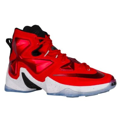 "Nike LeBron XIII 13 ""On Court"" メンズ University Red/White/Black/Laser Orange ナイキ バッシュ レブロン・ジェームス"